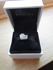 Pandora Cruise Ship Charm 791043 With Pandora Pouch.