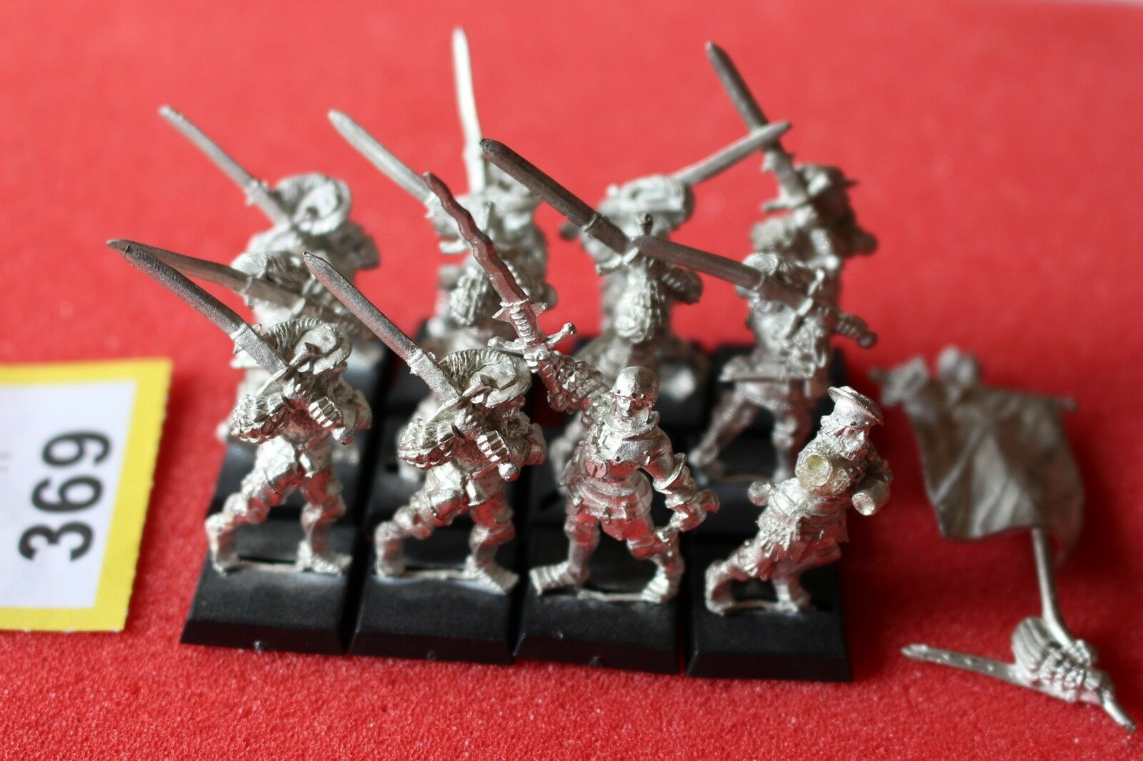 Juegos taller Warhammer Imperio Greatswords Clásico Regimiento Ejército 12 metal fuera de imprenta