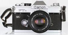 Canon FTb  QL Lens Canon FD 50 mm 1.8 (Réf#R-058)