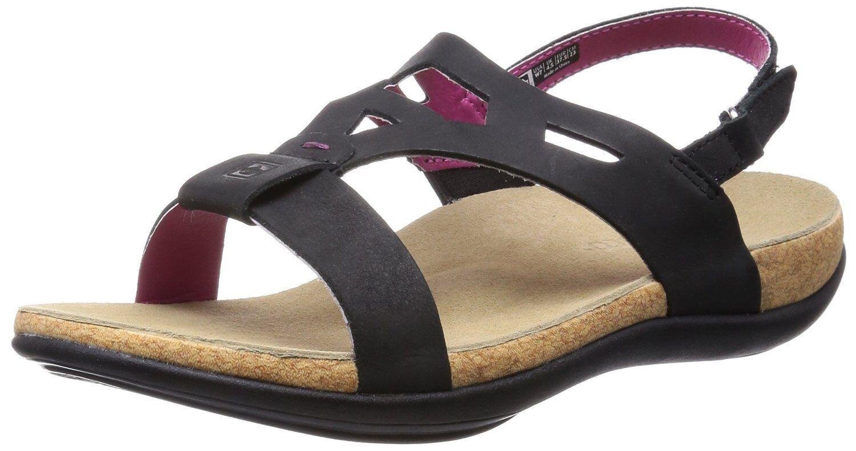Spenco Women's Tora Strappy Sandals - Black