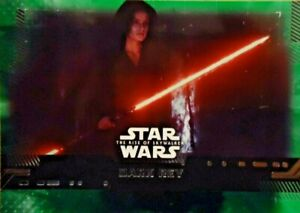 2019 Topps Star Wars The Rise Of Skywalker Dark Rey 65 Green Ebay