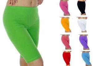 verkauft Online-Shop neue auswahl Details zu Damen Shorts Leggins Hotpants kurze Leggings Baumwolle Hose  Größe 36-56