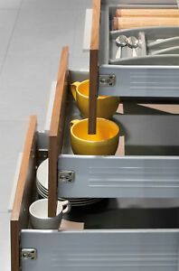 SOFT CLOSE KITCHEN DRAWER BOX COMPLETE FOR 15MM AND 18MM ...