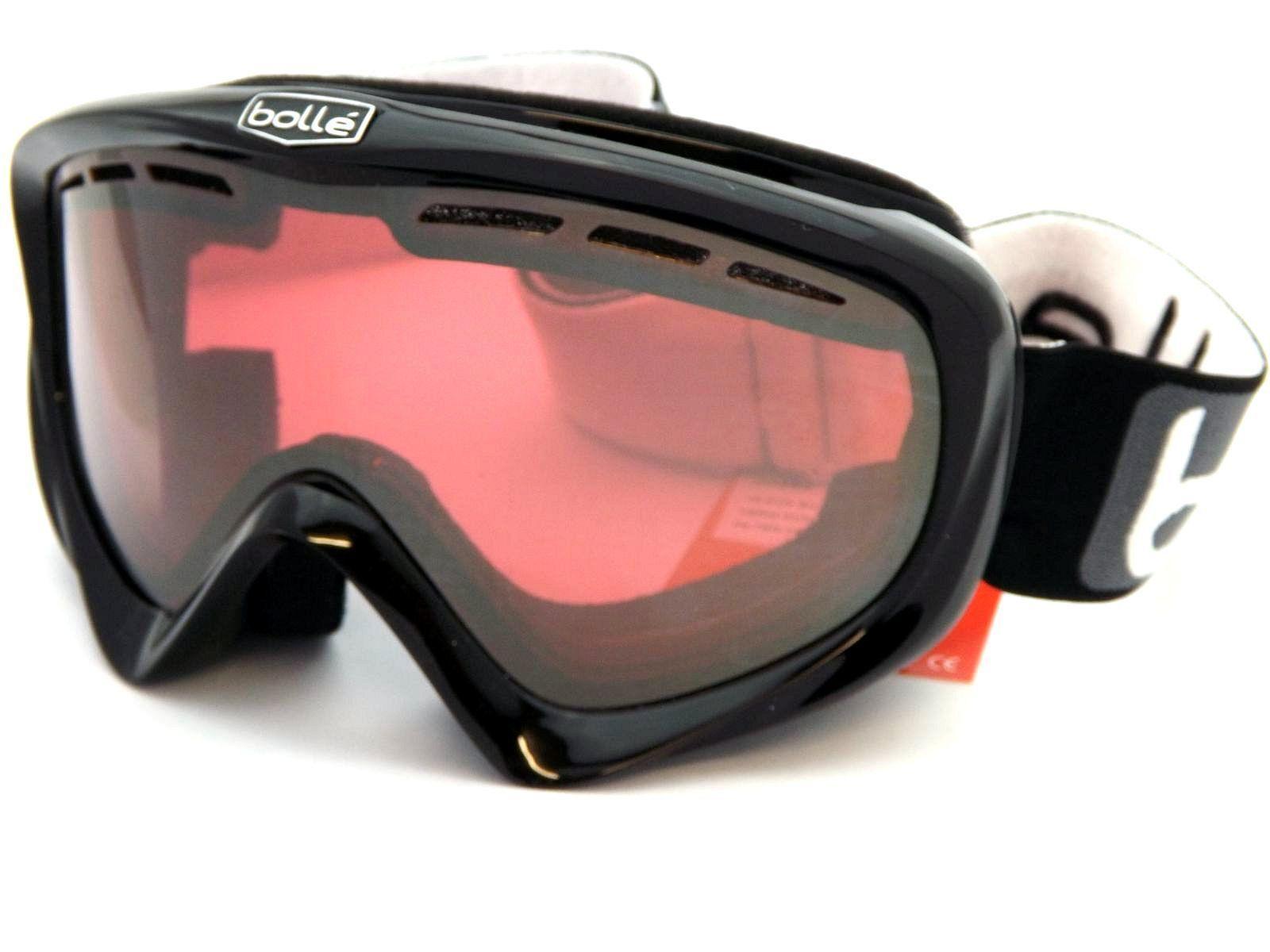 Bolle Überbrille Y6 OTG Ski Schneebrille Schwarz / Vermillon 20492 Waffe Spiegel 20492 Vermillon ef6f0e