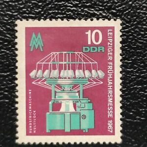 Alemania Oriental año 1967 Feria de Primavera de LEIPIZ  Nº 951
