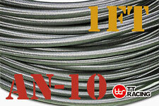 Stainless Steel Braided Hose (AN-10) Fuel/Oil/Water 5/8""