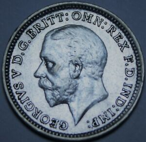 Great Britain 6 Pence, 1935 Silver~King George V