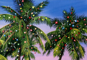 Palm Tree Lights Red Farm Studios Box Of 18 Warm Weather Christmas