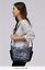 Vera-Bradley-Gallatin-Leather-Foxwood-Navy-Purse-Hobo-Crossbody-Shoulder-Bag-NWT thumbnail 11