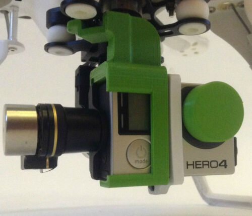 DJI Phantom Zenmuse Transportsicherung Travel Clip H3-3D H4-3D grün grün