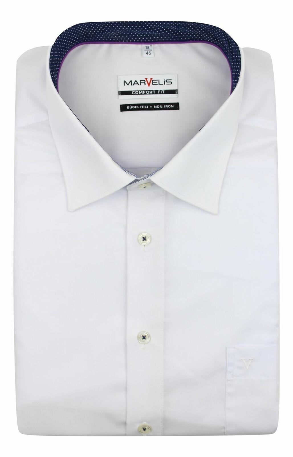 White (Spot Contrast) Spread Collar
