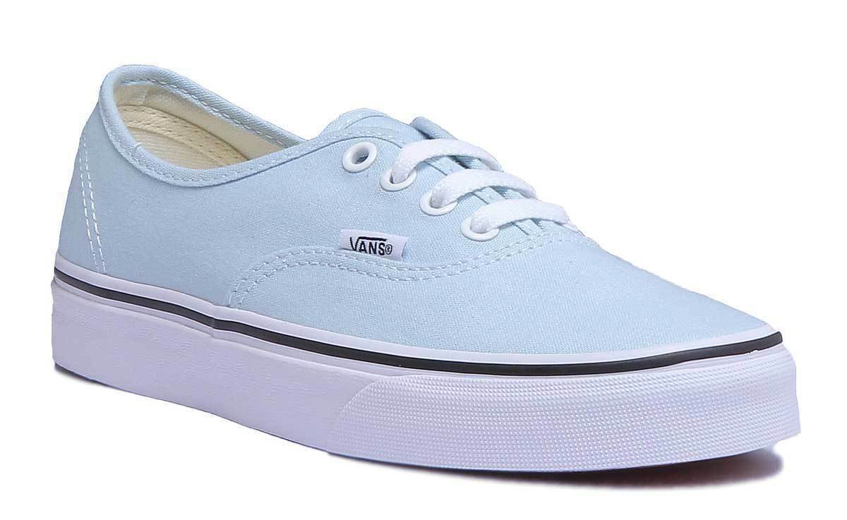 Vans Authentic Donna Donna Donna Tela Baby Blu scarpe da ginnastica Basse Taglia 2dd57f