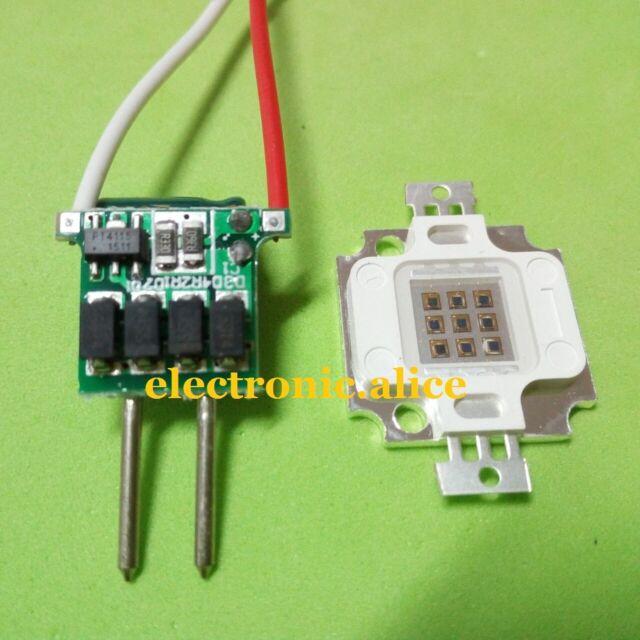 MR16 3x3w 600mA diver kit F DIY 1set 10W Infrared IR led chip 940nm