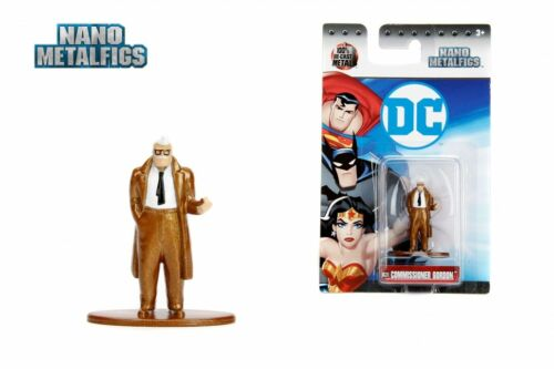 "Jada 1.65/"" Nano metalfisg DC Comics Commissaire Gordon action figure diecast"