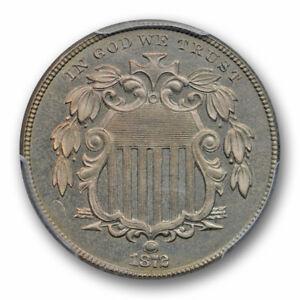 1872-5C-Shield-Nickel-PCGS-PR-65-Proof-Lightly-Blue-Toned-Low-Mintage