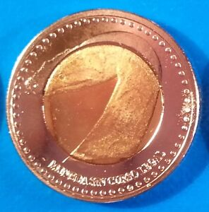 San Andres 20 centavos 2015 UNC Fish St Catalina Colombia unusual coin