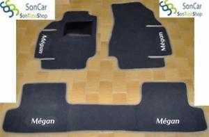 RENAULT MEGANE TAPPETI AUTO SU MISURA 4decori+4 block