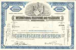 International-Telephone-Telegraph-ITT-stock-certificate