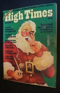 MB-123 High Times Magazine December 1976 Issue Jimmy Buffett Santa Claus more