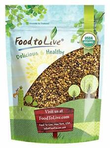Organic Antioxidant Mix of Sprouting Seeds, 1 Pound — Non-GMO Broccoli, Alfalfa,