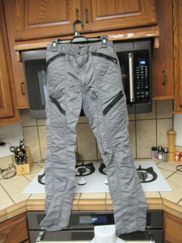 1980's Nylon Parachute Flight zipper pants Bugle B