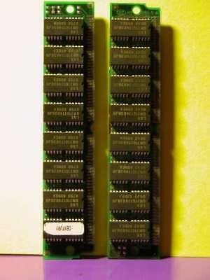 Apple Macintosh 2x 16mb 72-pin Simm Memory 32mb Matched Kit Power Mac 60ns Fpm
