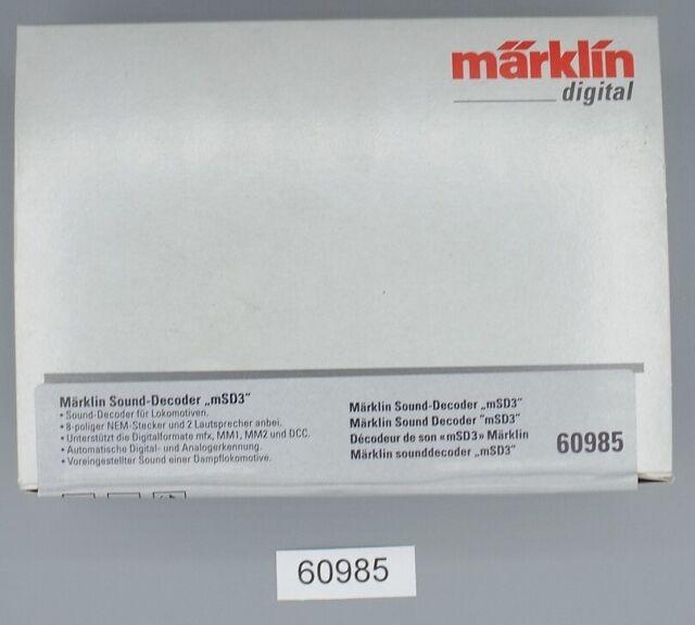 Märklin 60985 Lok-Decoder mSD3 con Cableado # Nuevo en Emb. Orig. #