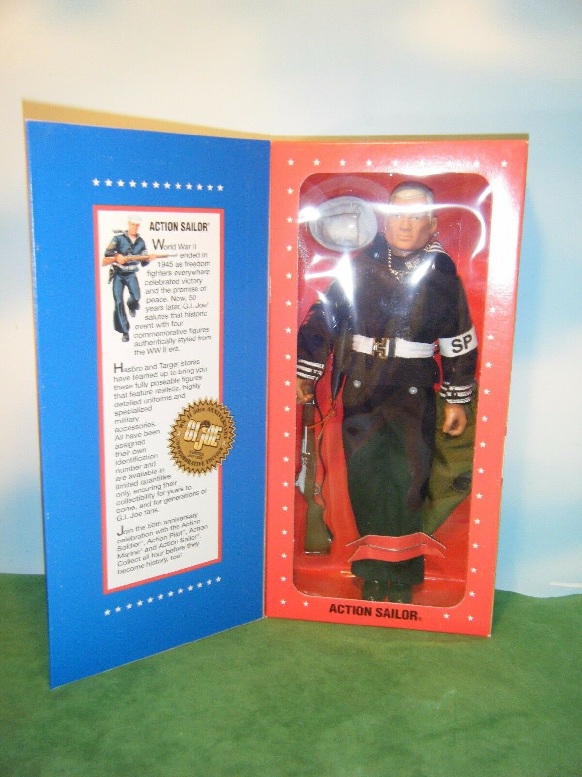 GI JOE ACTION SAILOR L.E. WWII 50TH ANNIVERSARY 12  FIGURE  176882 *NEW*