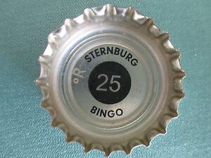 Kronkorken-von-Sternburg-hellblau-Bingo-Nr-25-Bingokronkorken-hellblau