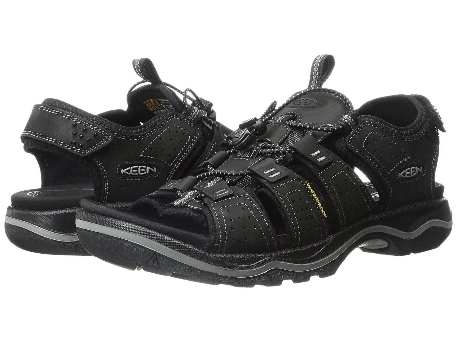 Keen Mens Men's Rialto Open Toe Adjustable Casual Ankle Strap Sandals shoes