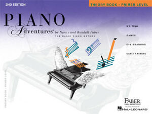 Faber-Piano-Adventures-Primer-Level-Theory-Book-2nd-Edition-420169-NEW-NICE