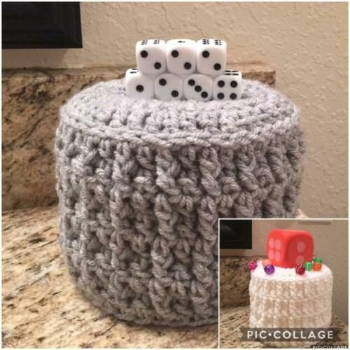 Bunco Toilet Paper Roll Cover Dice Toilet Paper Roll Cozy