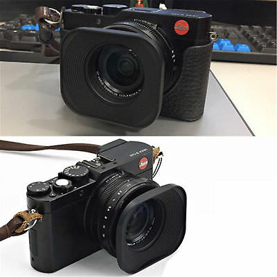 Camera Typ 109 eFonto//JJC LH-43LX100 Metal Lens Hood Shade for Panasonic LUMIX DMC-LX100 /& LEICA D-LUX