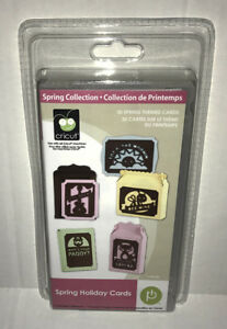 Details about Cricut SPRING HOLIDAY CARDS Cartridge Use w/ All Machines  RARE! New! #2000903
