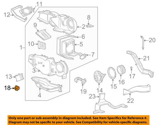 FORD OEM Blower Motor-Resistor 4L3Z19A706AA