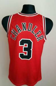 7fd51e68f7a Image is loading Chicago-BULLS-Vintage-CHAMPION-Chandler-3-Jersey-Large-