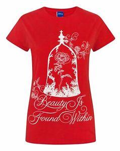 Disney Beauty And The Beast Enchanted Rose Women's T-Shirt