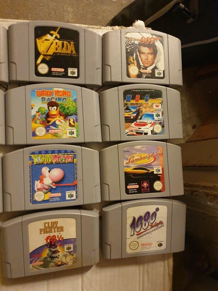 Mario, N64