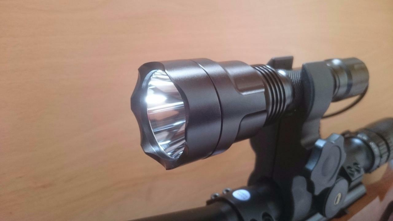 BRC 8X RED BEAM 350 LUMEN HUNTING LAMP SHOOTING LIGHT KIT