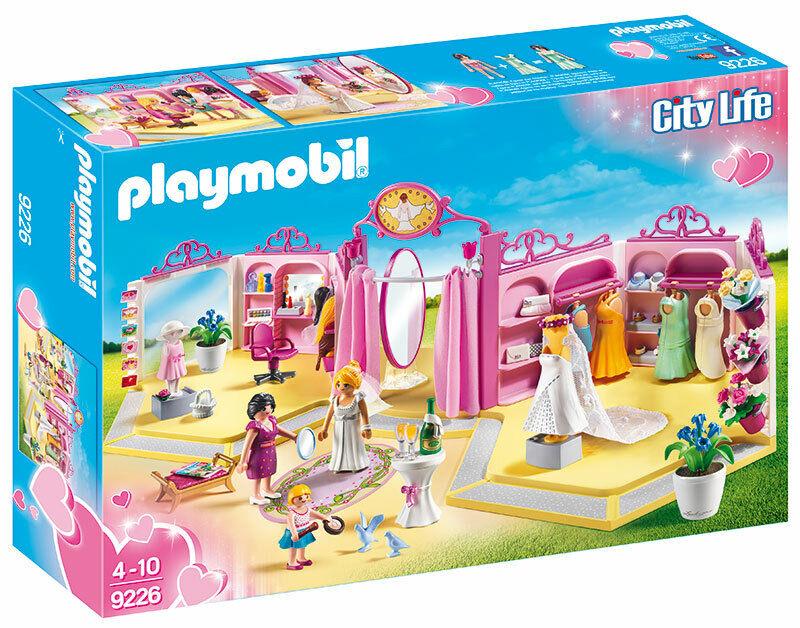 Playmobil Bridal Shop with figé  Hair and clothes 9226 playmobil  économiser jusqu'à 80%
