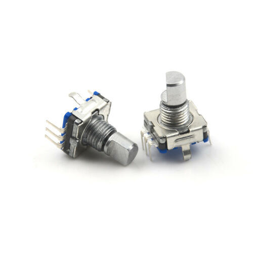 5Pcs Rotary Encoder Push Button Switch Keyswitch Electronic Components 12mm I