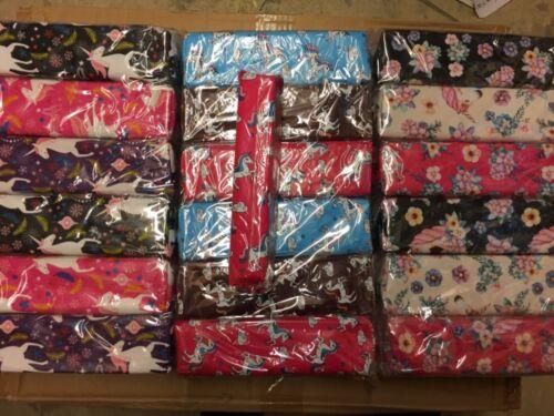Wholesale joblot unicorn//flamingo pencil case 60pcs