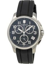 VICTORINOX SWISS ARMY - Army Officer Black Dial Chrono Men's Watch 241452