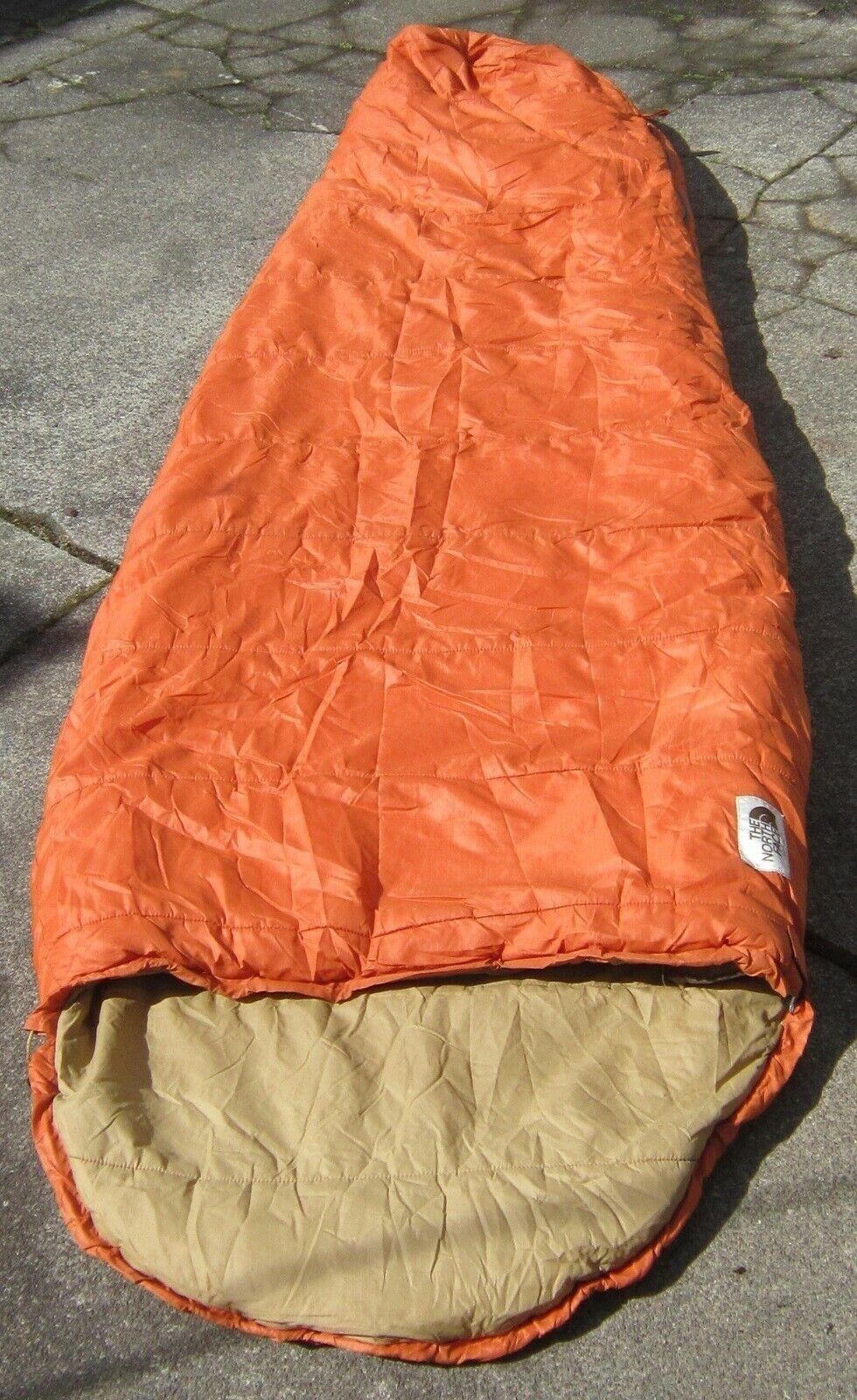 Vintage 1983 North Face 'Bigfoot' Saco de dormir polargard RH Zip