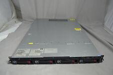 HP StorageWorks D2D2504i Backup System 4 Bay NAS Server w/4x 1TB Drives - EJ002B