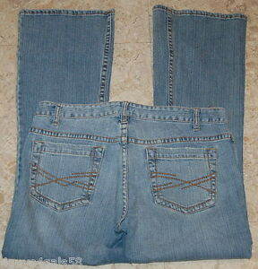 JR-Womens-JEANS-Aeropostale-Hailey-Skinny-Flare-Size-9-10-Short-LOW-RISE