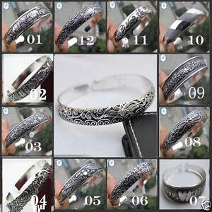 Wholesale-10-style-Hot-Tibetan-Tibet-Silver-Totem-Bangle-Cuff-Bracelet