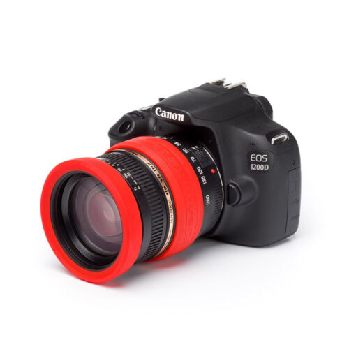 easyCover Lens Rim Lens Protection System 72mm Red