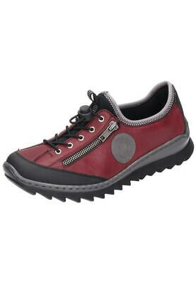 Rieker Schnürschuhe Halbschuhe Sneaker Damenschuhe Rot Gr.36-42 M6269-00 Neu7