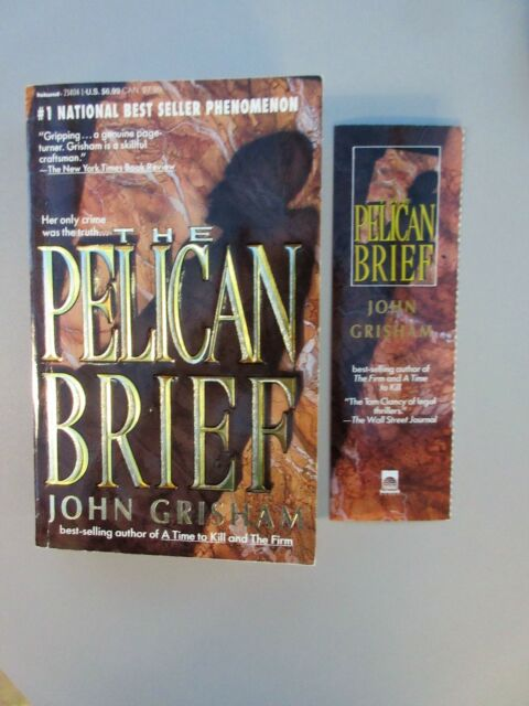 The Pelican Brief by John Grisham (1992, Island, Dell. Paperback  FIRST